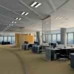 Una correcta iluminación en las empresas es fundamental.